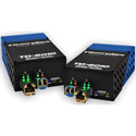 Fiberplex TKIT-ETH-M Preconfigured 10/100/1000 Base-T Ethernet to Multimode Optical Conversion 1310nm 2km - Pair