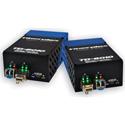 Fiberplex TKIT-HDMI-M TD-6010 (Pair) HDMI Video to Multimode Optical Conversion Video Optimized 850nm - 500m w/ AC Power