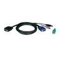 Tripp Lite P780-006 6 Ft. KVM USB/PS2 Cable