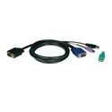 Tripp Lite P780-015 KVM USB/PS2 Cable for B040 and B042 15ft