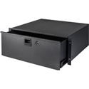 Samson SRKDR4U TN-RD4 Rack Drawer with Key Lock & Rear Cable Raceway - 4RU