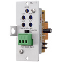 TOA ML-11T  - Mic/Line Input with Mute/Send Receive