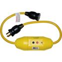 Rainproof 3 Foot In-Line 20A NEMA L5-20 Rated Twist Lock GFCI Cord