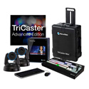 Newtek TCMAPTZB1 TriCaster Mini HD-4i Advanced with 2 PTZ NDI Cameras Bundle