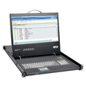 Tripp Lite B021-000-19-HD 1U Rackmount Console with 19 in. LCD - DVI or VGA