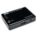 Tripp Lite B119-003-UHD-MN 3-Port HDMI Mini Switch for Video & Audio 4K x 2K UHD @ 24/30 Hz with Remote Control