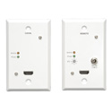 Tripp Lite B125-101-60-WP HDMI over Dual Cat5/6 Extender Kit Wallplate TX/RX  for Video & Audio - Up to 125 Feet