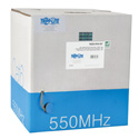 Tripp Lite N222-01K-GY Cat6 Gigabit Bulk Solid PVC Cable - Gray 1000 Feet