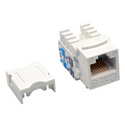 Tripp Lite N238-025-WH Cat6/Cat5e 110 Style Punch Down Keystone Jack - White 25-Pack