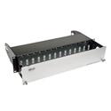 Tripp Lite N482-02U High Density Fiber Enclosure Panel 2U 14-Cassette Capacity