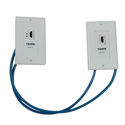 Tripp Lite P167-000 HDMI over Dual Cat5/Cat6 Extender Wall Plate Kit with Transmitter and Receiver