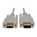 Tripp Lite P520-006 Serial DB9 Serial Extension Cable Straight Through (DB9 M/F) 6 Feet