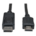 Tripp Lite P582-003 DisplayPort to HD Cable Adapter (M/M) 3 Feet