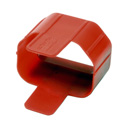 Tripp Lite PLC13RD Plug-lock Inserts keep C14 power cords solidly connected to C13 outlets RED color Package of 100
