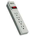 Tripp Lite PS410 Power Strip 120V 5-15R 4 Outlet 10ft Cord 5-15P