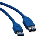 Tripp Lite U324-006 6ft USB 3.0 SuperSpeed Extension Cable A Male to A Female 6 Foot