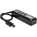 Tripp Lite U360-004-MINI 4-Port Portable USB 3.0 SuperSpeed Hub