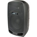 Tourtek TBX10 10 Inch Powered Bluetooth Loudspeaker with Mic Line and Instrument Inputs - Each