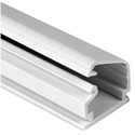 HellermannTyton Cable Raceway 3/4 Inch x 1/2 inch x 6 Foot White
