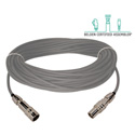 Belden 1859A Plenum Triax Cable 50 Foot with Kings Connnectors