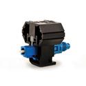 HellermannTyton PFCLCSM Pre-Polished LC Single Mode Fiber Connector - Blue - 1/pkg