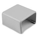 HellermannTyton TSR2W-36 1-1/4 Inch End Cap - White 10 Pack