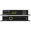 Attero Tech unAIO2x2plus 2x2 Channel AES67 Mic/Line I/O Interface - PoE or 24VDC - AES67