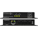 Attero Tech unDIO2x2plus-C 2x2 Channel Mic/Line I/O Interface - PoE or 24VDC - Symetrix Control