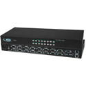 NTI UNIMUX-USBV-16HDUT 16-Port VGA High Density USB KVM Switch