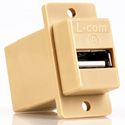 Chassis Mount USB Adapter A-Front B-Rear - Ivory