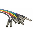 ADC-Commscope V3V-STM Mid-Size Video Patch Cord - 3 Foot - Violet