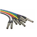 ADC-Commscope V4V-STM Mid-Size Video Patch Cord - 4 Foot - Violet