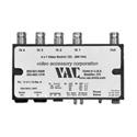 VAC 17-511-114 Video Switcher - 4x1 - BNC - Flex Power