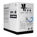 Vertical Cable 156-021/P/BL  Plenum CAT-5E 350Mhz 1000ft Pull Box - Blue Jacket