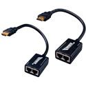 Vanco 280552 75 Foot HDMI Extender Over 2x CAT-5e Cables