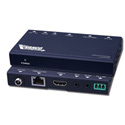 Vanco HDBTEX70 HDBaseT Extender Allows Transmission of HDMI Audio & Video Control & Power Over a Single Cat5e/Cat6 Cable