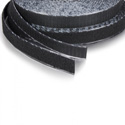 VELCRO® Brand 185470 Tape On A Roll Pressure Sensitive Rubber Adhesive Hook - 5/8 Inch x 25 Yard - Black