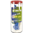 1000 Cable Ties In A Jar