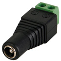 DC Plug 5.5x2.5mm Female to Screw Terminal (EACH)