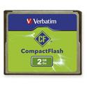 Verbatim 47012 2GB CompactFlash Card