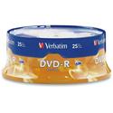 Verbatim 16x Write Once DVD-R 25 PK Spindle