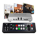 A Video Streaming Kit with Roland V-1SDI Switcher and Matrox Monarch HD Video Streaming and Recording Appliance