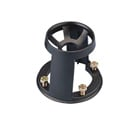Vinten 3330-16 100mm Levelling Bowl Adaptor with Quickfix Ring and 4-Bolt Flat Base Fixing