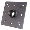 Universal TV Mount Ceiling Flange for 1.5 Inch NPT Pipe
