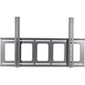 VMP FP-LFB Large Flat Panel Flush Mount (42 to 63 Inch Flat Panels 180 lbs Capacity) Black
