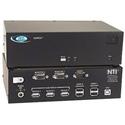 NTI VOPEX-USBV-2 VGA USB KVM Splitter