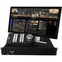 FOR-A Envivo Replay System with 1 High Speed 4X HD-SDI/3G Input and 2 HD-SDI/3G Outputs