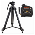 VariZoom VZTK75A-STEALTHPZFI Video Tripod and Stealth Lens Control for Panasonic