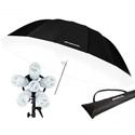 Westcott 1211C Spiderlite TD6 Parabolic Umbrella Kit with Bonus Diffusion Panel