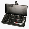 WIHA 75965 Master Tech 65pc Micro Bit set with Precision Driver and Ratchet
